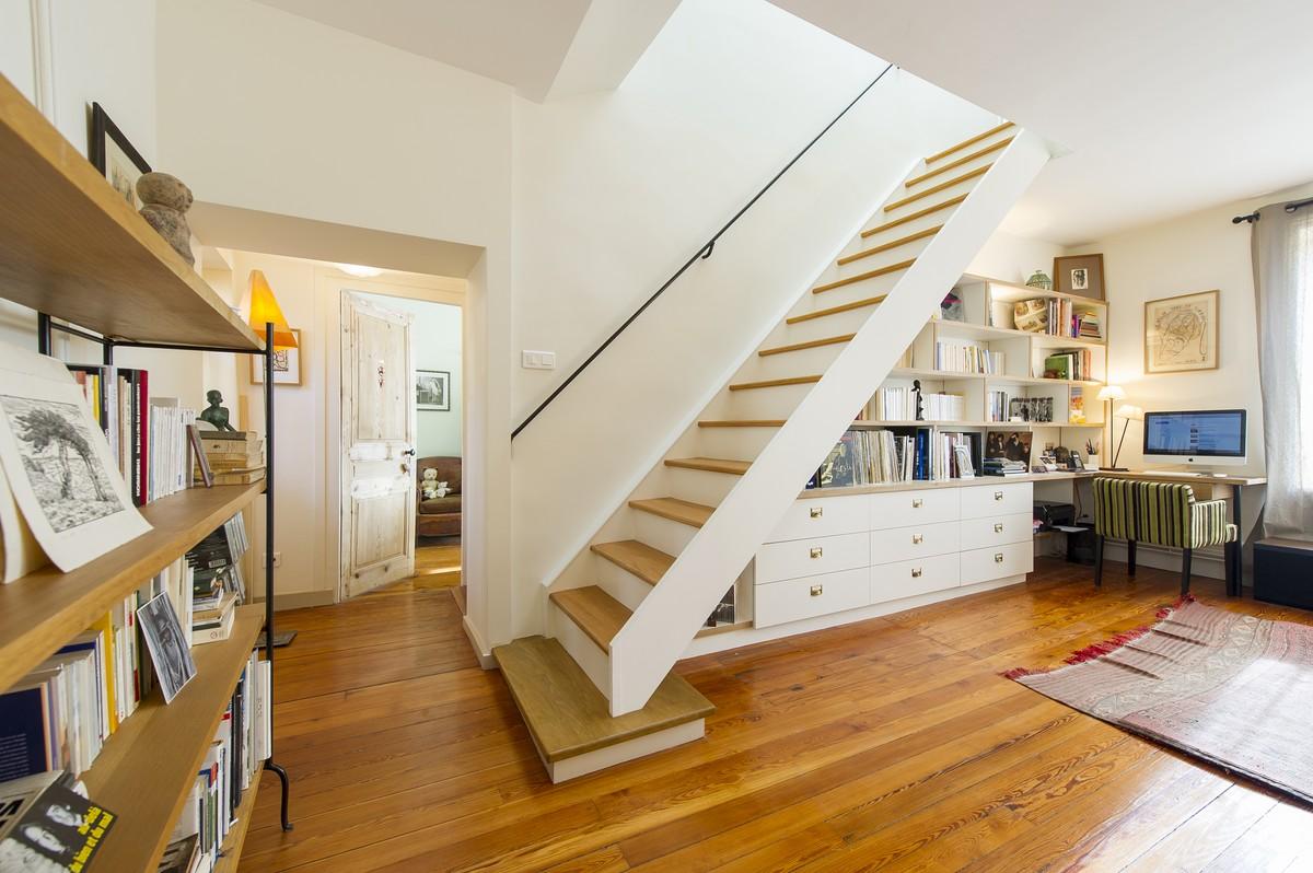 Atelier d 39 architecture aur lie nicolas architecte lyon r novation p - Tarif renovation maison ...